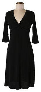 Black Maxi Dress by BCBGMAXAZRIA Cross-front