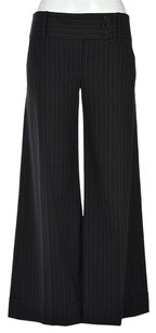 BCBGMAXAZRIA Womens Striped Dress Trousers Wtw Pants