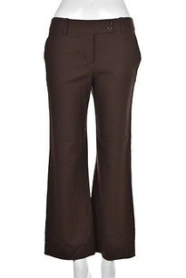 BCBGMAXAZRIA Womens Dress Textured Wool Career Trousers Pants