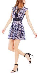 BCBGMAXAZRIA short dress Royal Blue on Tradesy