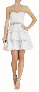 BCBGMAXAZRIA Homecoming Girls Night Out Strapless Dress