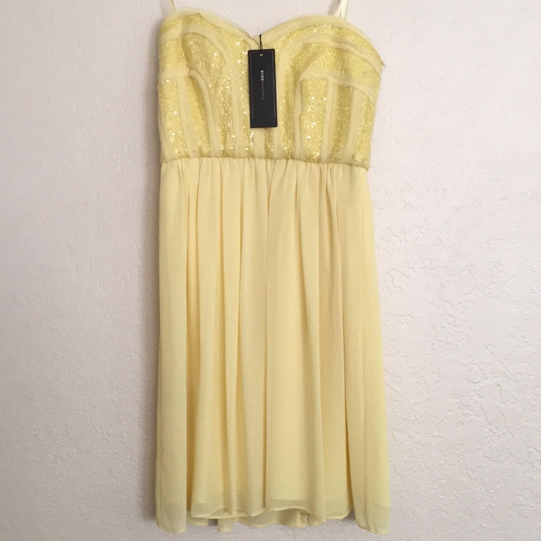 Canary Yellow Cocktail Dresses_Cocktail Dresses_dressesss