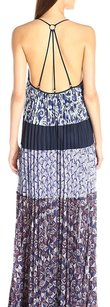 Dark navy combo Maxi Dress by BCBGMAXAZRIA