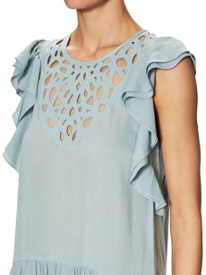 Light Blue Maxi Dress by BCBGMAXAZRIA