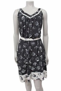 BCBGMAXAZRIA short dress Black -white Bcbg Maxazria White on Tradesy