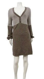 BCBGMAXAZRIA short dress Bronze Oatmeal on Tradesy