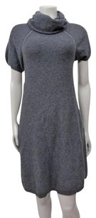BCBGMAXAZRIA short dress Gray Bcbg Maxazria Wool on Tradesy
