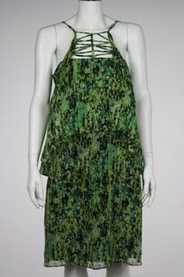 BCBGMAXAZRIA Bcbg Maxazria Kaia Green Dress