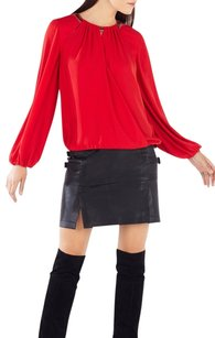BCBGMAXAZRIA Top BURNT RED