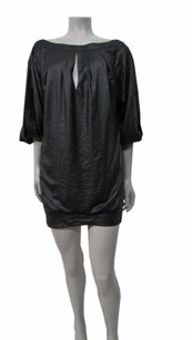 BCBGMAXAZRIA short dress Black Runway on Tradesy