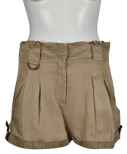 bebe Womens Casual Shorts Tan