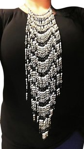 bebe Hanging beaded necklace and body jewelry