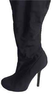 bebe Stretch Winter Black Boots
