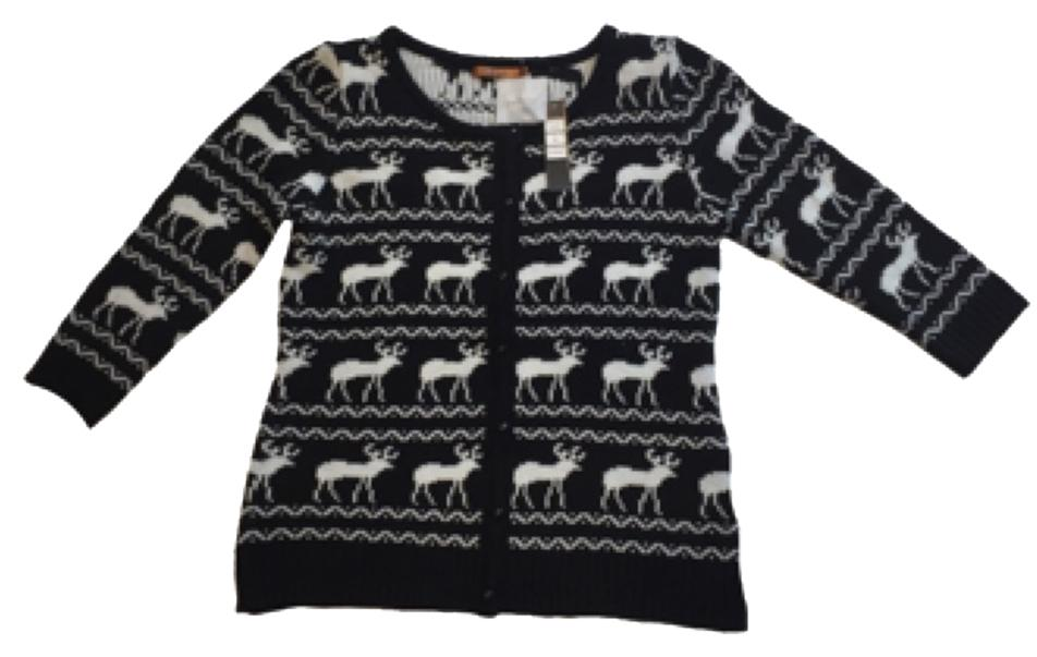 Belldini Deer Crop Cardigan Small #15000