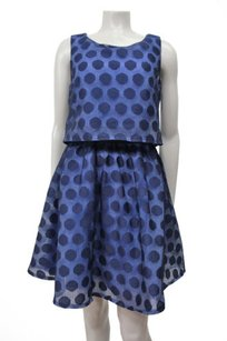 Betsey Johnson Dot Print Lace Dress