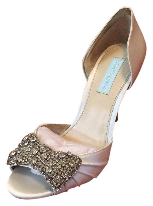 betsey johnson ivory formal shoes formal on sale
