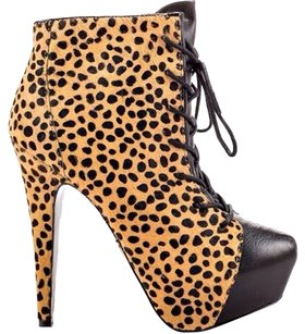Betsey Johnson Leopard Boots