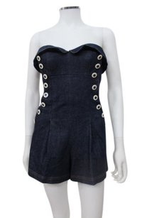 Betsey Johnson Denim Sailor 0 Dress