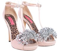 Betsey Johnson Shoe Pump Heel Blush Sandals