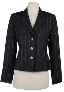 Bill Blass Saks Fifth Avenue Charcoal Jacket