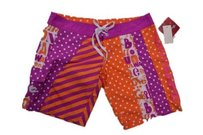 Billabong 1 Unisex Abstract Board Shorts orange & white