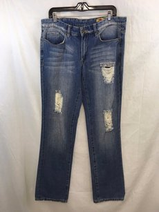 BlankNYC Blank Nyc Distressed Boot Cut Jeans