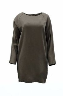 Blaque Label short dress Dark Khaki Raglan Sleeve Tunic Top on Tradesy