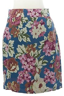Boden Womens Blossom Pencil Skirt Multi-Color