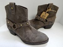 Børn Born Distressed Leather Brown Boots