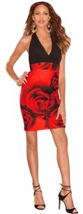 Boston Proper by Alexia Admor Halter Rose Valentines Dress