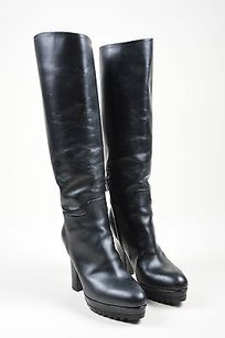 Bottega Veneta Leather Black Boots