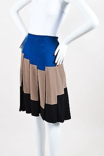 Bottega Veneta Blue Taupe Skirt Multi-Color