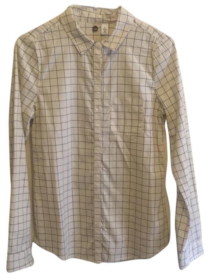BP. Clothing Cream Button Down Shirt well-wreapped - www ...