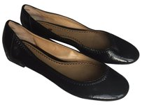 BP. Clothing Patent Black Flats