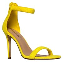 Breckelle's Ankle-strap Breckelles Yellow Sandals