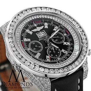 Breitling Breitling Bentley 6.75 Automatic A4436412 14.50 Ct Diamond Case