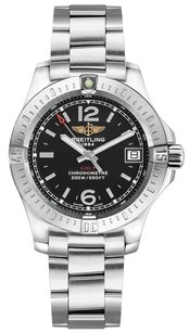 Breitling Breitling Colt Ladies Stainless Steel Black Dial Watch A7738811