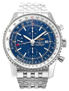 Breitling BREITLING NAVITIMER WORLD A24322 STAINLESS STEEL MEN'S WATCH