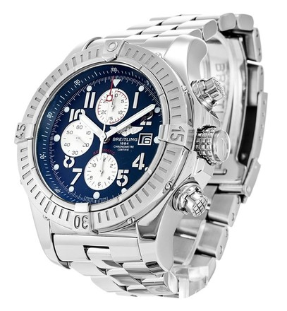 Breitling BREITLING SUPER AVENGER A13370 STAINLESS STEEL MEN'S WATCH