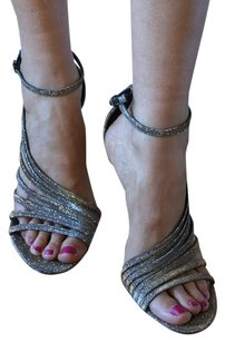 Brian Atwood Chic Coctel Highheel silver Sandals