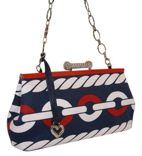 Brighton Red, White and Blue Clutch