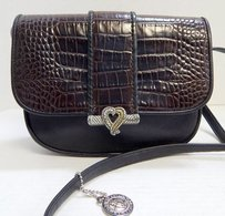 Brighton One World Croc Cross Body Bag