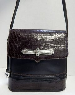 Brighton Leather Brown Shoulder Bag
