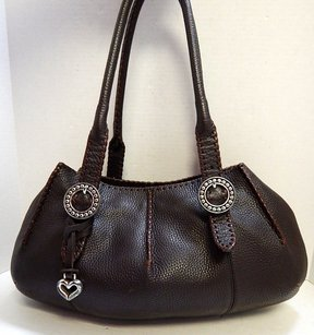 Brighton Pebbled Leather Shoulder Bag