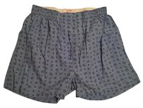 Brooks Brothers Brand New Mens Blue Brooks Brothers Boxers - (M)