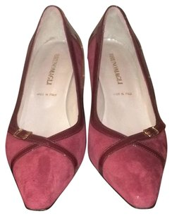 Bruno Magli Burgundy Pumps