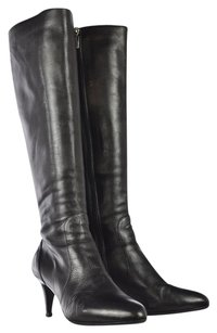 Bruno Magli Knee High Black Boots