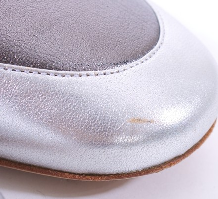 Bruno Magli BROWN AND PEWTER Flats