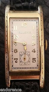 Bulova Bulova 1937 President 1941 Movement Cal 7ap 17 Jewel B- 10k Gold Filled