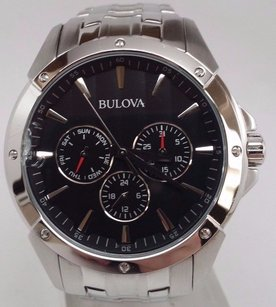 Bulova Bulova 96c107 Chronograph Quartz Stainless Steel 42mm Watch